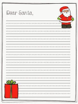 Letter To Santa Template Grade 1 | pinterest the world s catalog of ideas