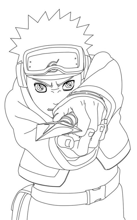 obito uchiha coloring page  printable coloring pages