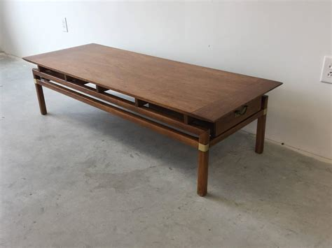regency coffee table hickory regency walnut coffee table for sale at