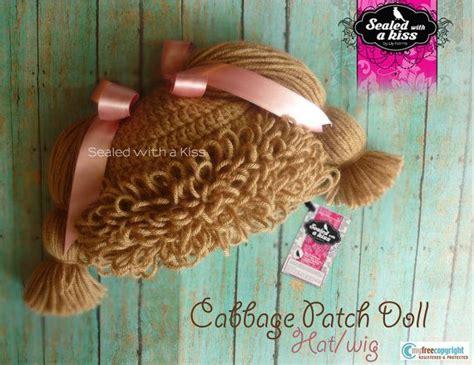 cabbage patch crochet wig pattern crochet pattern cabbage patch hat wig crochet pattern