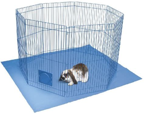 leaving puppy in playpen while at work indoor rabbit cages furred and feathered pets