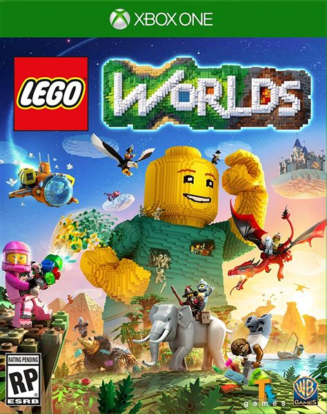 lego worlds ps4 xbox one nintendo switch codes tips guide unofficial books lego worlds ride an octopus fight a mixel a blast