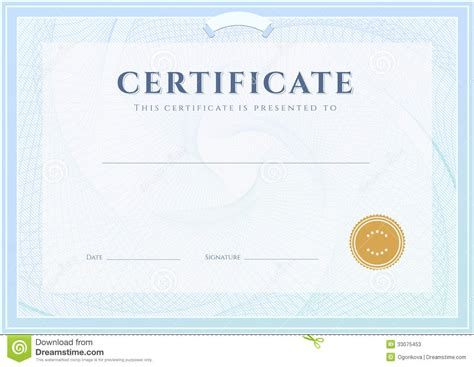 diploma design template certificate diploma template award pattern stock photos