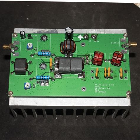 rf power lifier integrated circuit 100w linear power lifier radio high frequency rf power lifier with low pass for