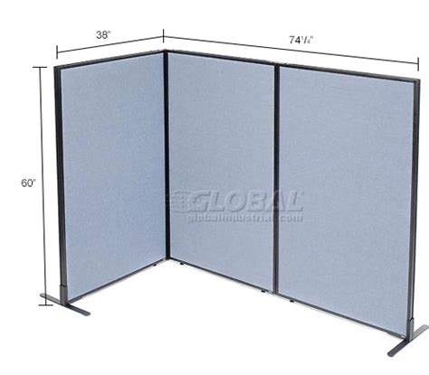 Freestanding Room Divider Office Partitions Room Dividers Office Partition Panels Freestanding 3 Panel Corner Room