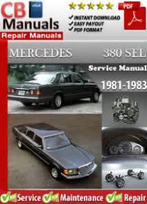service manual online car repair manuals free 1983 pontiac grand prix interior lighting mercedes 380sel 1981 1983 service repair manual ebooks automotive
