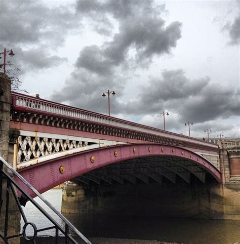 Places That Offer The Bridge Device For Detox by Blackfriars Bridge Because Of Jem And Tessa Places To