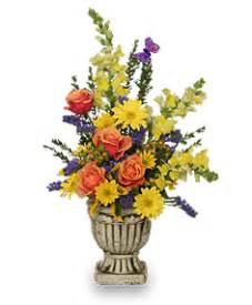 uplifting floral urn arrangement in roanoke va flowers