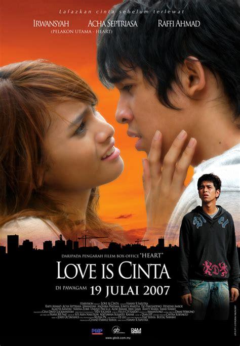 film layar lebar love is cinta love is cinta catatan kecil yang ingin ku bagi