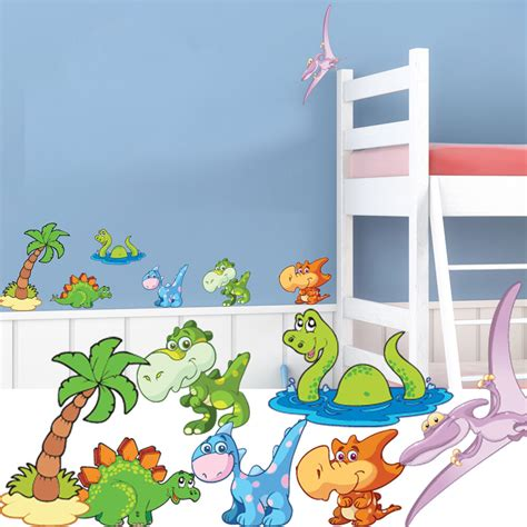 dinosaur nursery wall stickers childrens bedroom decal