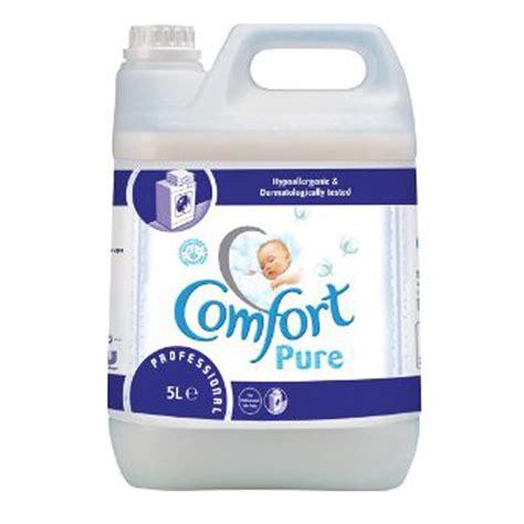 comfort fabric softener uk comfort 5 litre pure professional fabric softener