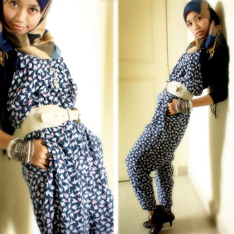 Jumpsuit Cotton Motif feazuare zainal cotton on bird motif jumpsuit cotton on white belt cotton on overloaded