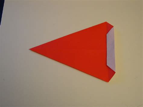 Origami Santa Hat - origami santa hat folding how to make an