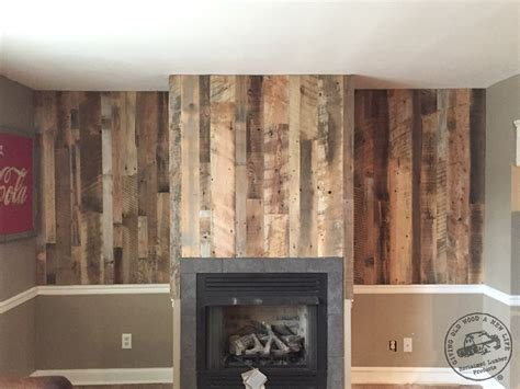 Accent wall paneling idaho barn wood blend reclaimed lumber products