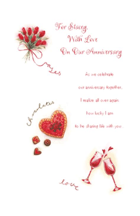 printable anniversary cards for wife for my wife greeting card anniversary printable card