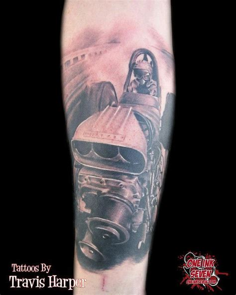 drag racing tattoos tattoos dragster racecar racing nascar auto