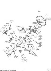 1990 ford steering column diagram exploded view for the