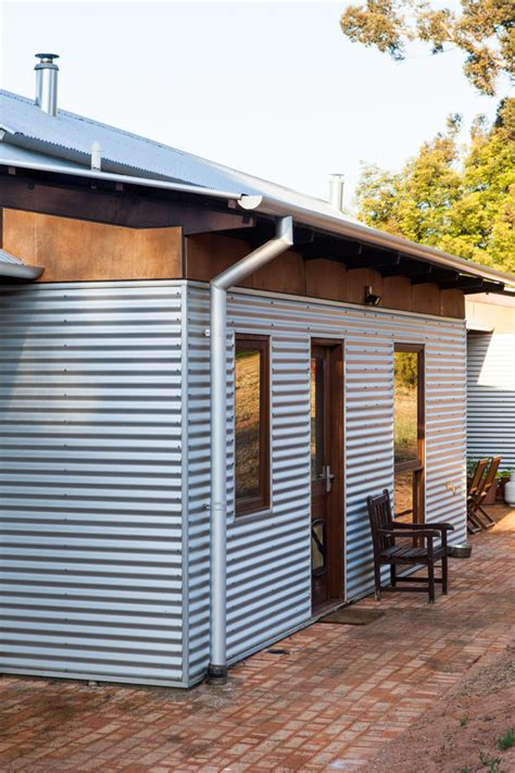 Modern Sheds Australia by The Solar Passive House In Stoneville House