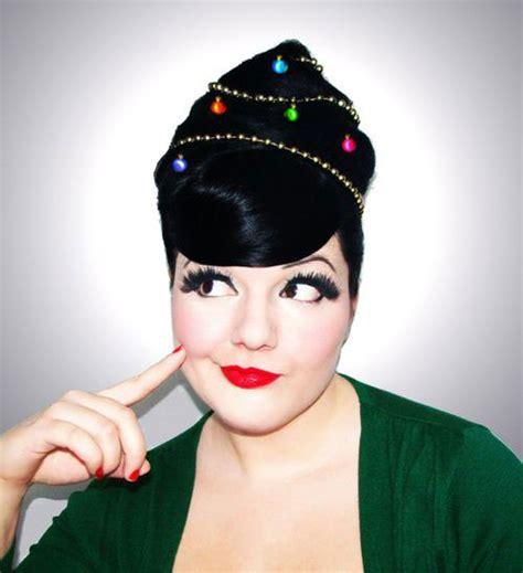 xmas hairstyles 2015 15 creative christmas themed hairstyle ideas 2015 xmas