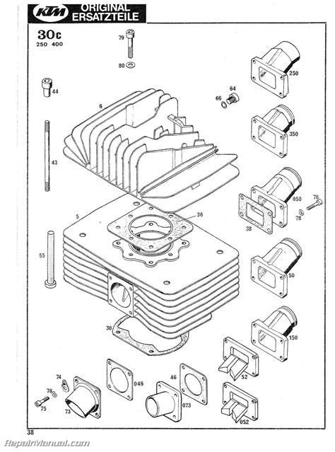 Ktm Spareparts 1978 1979 Ktm 125 175 240 250 340 400 Motorcycle Engine