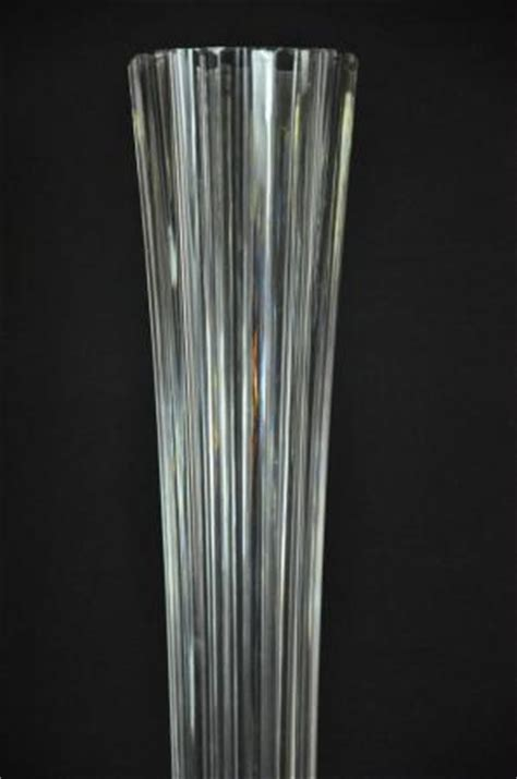 Vase Floor Ls by Extremely German Or Bohemian Fluted