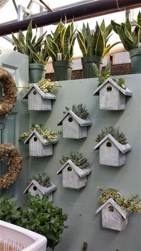 Birdhouse Planters by Bird House Planter