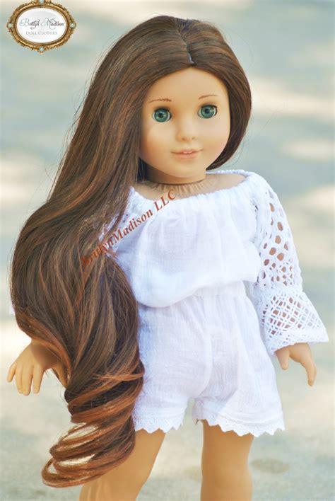 premium doll wig size 10 11 fits 18 inch dolls like