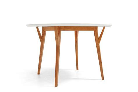 table de salle 224 manger ronde design scandinave moesa