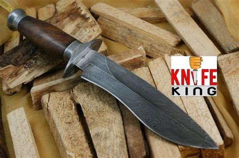 cing knives for sale knife king quot cobra quot damascus handmade bowie knife