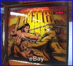 world s largest hercules pinball machines 187 hercules