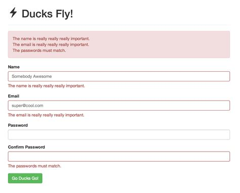laravel tutorial form tutorial form validation dengan laravel