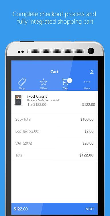 titanium app templates ionic opencart mobile app template codester