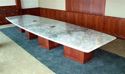 Marble Boardroom Table Boat Shaped And Rectangular Conference And Boardroom Tableshardrox
