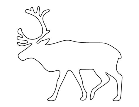 free printable movable reindeer fine reindeer template printable image exle resume