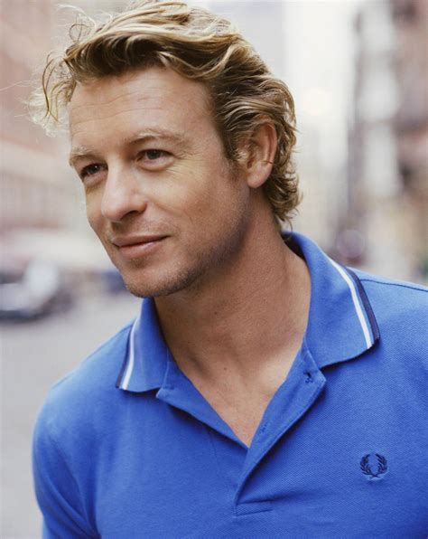 blond hair actor in the mentalist gorgeous men simon baker on pinterest simon baker