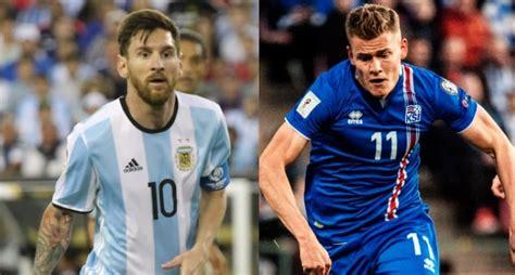 Argentina Vs Islandia Argentina Islandia Primer Partido Mundial Adem 225 S De