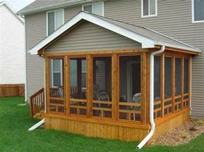 Screen Porch Plans Do It Yourself by 3 Season Room Addition Doityourself Com Community Forums