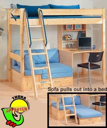 Bunk Bed With Sofa And Desk 25 Best Ideas About Bunk Beds On Pinterest Bunk Bed With Desk Bunk Bed Desk And Tent