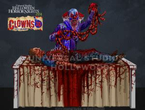 hhn brings in the clowns (and slash) for its final maze