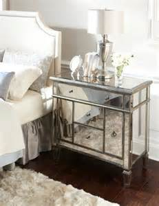 Cheap Mirrored Bedroom Furniture Amelie Mirrored Nightstand On Sale For The Home