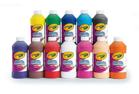 crayola painting crayola 174 artista ii 174 tempera paint set of 12 colors