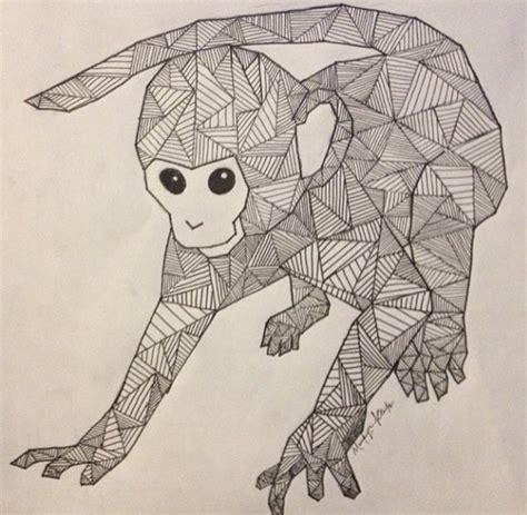 geometric gorilla tattoo ink geometric line art design pinterest tattoo