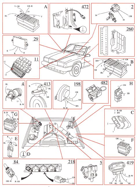 volvo 740 turbo fuel wiring diagram volvo free