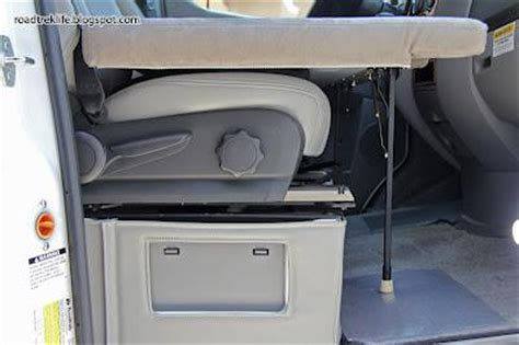 boat bench seats that fold into a bed create a folding rv bed for the front seats of your rv