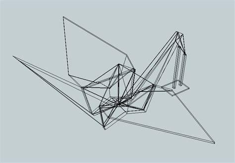 3d Origami Crane - origami crane