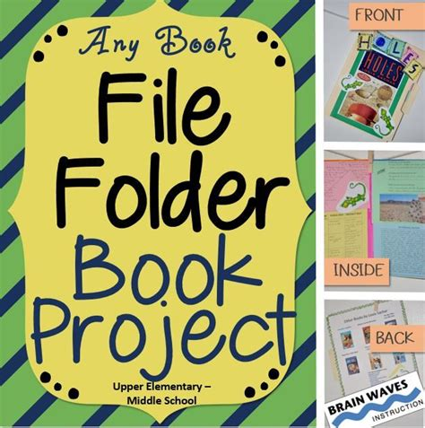 File Folder Biography Book Report by Character Book Report Projects