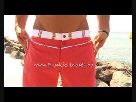 Hq 5018 Size S M L funkie undies geronimo mens swim shorts in size s