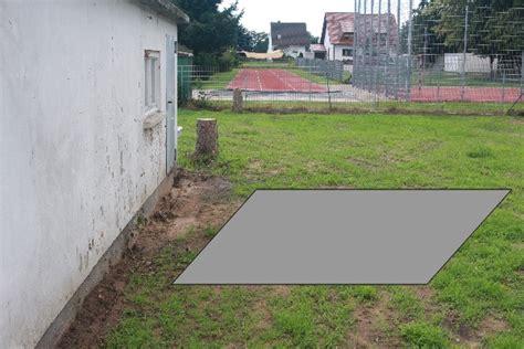 holzhackschnitzel garten fundament erstellen tipps ben 246 tigt grillforum und bbq