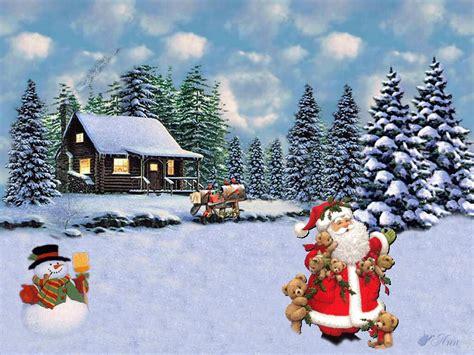 imagenes de navidad fondos de navidad santa ositos fondos de pantalla de