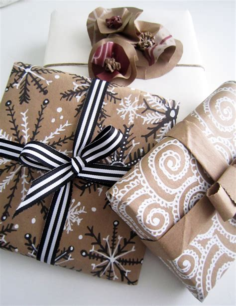 Gift Bags From Wrapping Paper - alisaburke wrapping with paper bags
